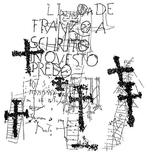 Crosses, inscriptions and other historical signs from Campanine, Cimbergo, Natural Rock Art Reserve of Ceto, Cimbergo, Paspardo (Valcamonica)